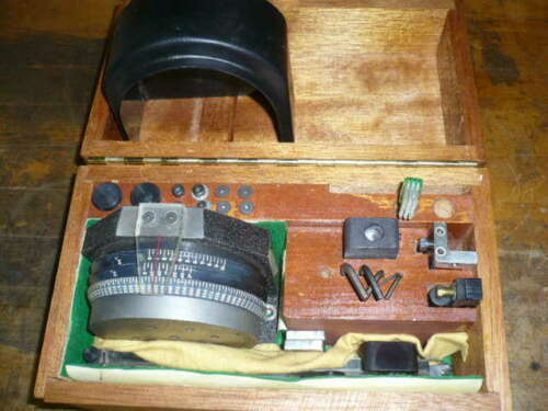 Newbould indexer, dividing head, grinding wheel dresser
