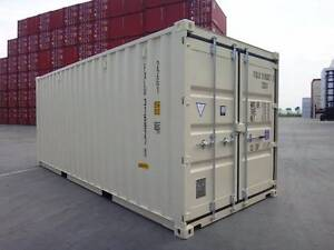 20' New Build Double Door Shipping Containers BEIGE - SALE $3100 Hemmant Brisbane South East Preview