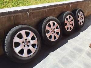 """Audi Q7 Genuine 18"""" Wheels And Tyres Ryde Ryde Area Preview"""