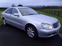 2003 ( DECEMBER) FACELIFT MERCEDES S320 CDI AUTOMATIC TURBO DIESEL