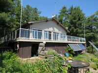 Lower French River Cottage - Boat Access Only 15 min boat ride