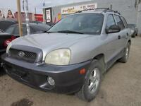 2002 HYUNDAI SANTE FE $ 3495 2 TO CHOOSE FROM! SWEET DEAL