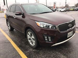 LEASE TAKE OVER - 2016 Kia Sorento 3.3L SX+