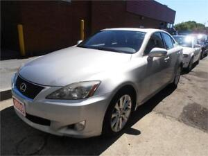 2009 Lexus IS250 Leather Silver Only173,000km