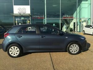 2017 Kia Rio YB MY18 S Blue 4 Speed Sports Automatic Hatchback Fyshwick South Canberra Preview
