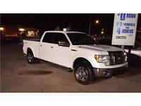 2010 Ford F-150 Lariat pearl White! black leather