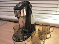 Breville One-Cup Kettle with 4 cups - - £10 - -