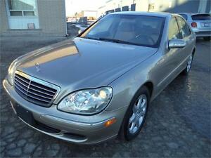 2003 Mercedes-Benz S-Class 4.3L 4,MATIC LOW 97000 KM FINANCING