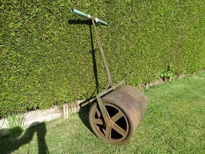 Cast Iron Garden Roller, Probably Victorian