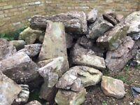 Limestone rocks 'Westmoreland'