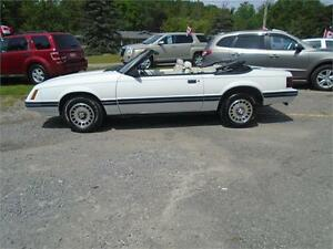 1984 FORD MUSTANG LX CONVERTIBLE