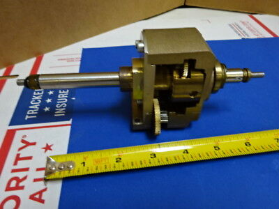 Microscope Part Stage Mechanism For Reichert Austria Polyvar As Is 65-a-29
