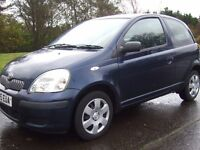 Toyota Yaris 1.0i T3 , 2005 , ----- Full Service History ----- , Immaculate Condition