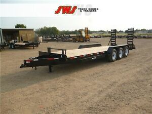 NEW 2016 24' Construction Trailers 3-7s