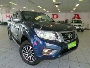 2017 Nissan Navara D23 S2 ST-X Blue 6 Speed Manual Utility
