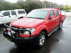 2014 Nissan Navara D40 S7 ST 6 Speed Manual Utility Burrangong Young Area Preview