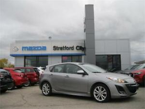 2011 Mazda Mazda3 GT - ONE OWNER, NO ACCIDENTS, DEALER SERVICED