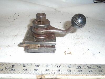 Machinist Tools Lathe Mill Hardinge Turret Tool Post Stl 3 38 Slot