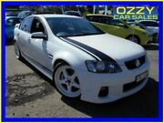 2012 Holden Commodore VE II MY12 SS White 6 Speed Automatic Sedan Penrith Penrith Area Preview
