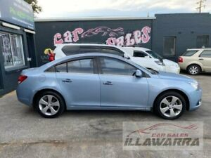 2010 Holden Cruze JG CD Blue 6 Speed Automatic Sedan Barrack Heights Shellharbour Area Preview