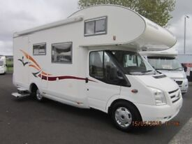 2010 EURA MOBIL 4 BERTH FIXED REAR BUNK MOTORHOME WITH ONLY 12K MILES ANDERSON MOTORHOME SALES