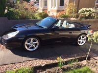 2003 Porsche 996 3.6 Cabriolet, with Hard Top.
