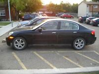 2003 INFINITI G35 - BEST REASONABLE OFFERS WILL BE CONSIDERED
