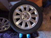 "Renault original 16"" alloys"