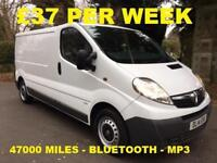 £37 PER WEEK VAUXHALL VIVARO 2.0CDTi 2900 LWB 2.0 DIESEL WITH BLUETOOTH