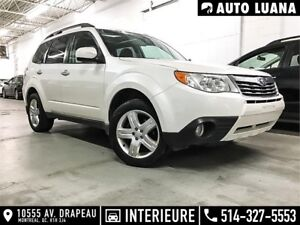 2010 Subaru Forester Limited CUIRE/TOIT PANORAMIC/MAGS/DÉMARREUR