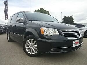 2016 Chrysler Town & Country Limited | BLACK HEATED LEATHER | NA