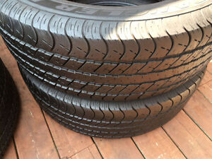 4 GoodYear summer tires / pneus été 275 60 R20, 27560R20