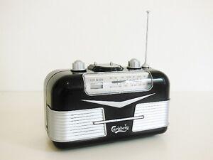 Carlsberg Collectible Classic Antique Retro Style Clock Radio
