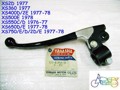 Yamaha XS400 XS500 XS550 XS650 XS750 Lever Assy NOS + Perch Holder 1J3-82910-21