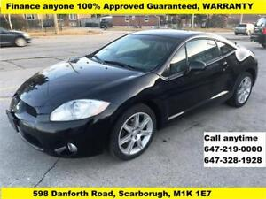 2006 Mitsubishi Eclipse GT FINANCE 100% GUARANTEED APPROVED