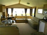 Double Glazed Holiday Home on Front Row For Sale Carmarthenshire South Wales