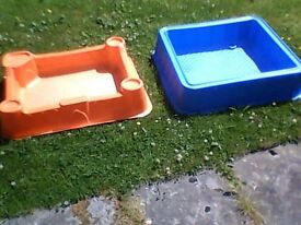 Toddlers paddling pool and sand pit