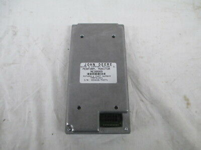 John Deere Performance Monitor Re39569