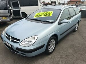 2003 Citroen C5 HDi Blue 4 Speed Auto Active Sequential Wagon Lansvale Liverpool Area Preview