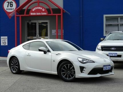 2016 Toyota 86 ZN6 GT White 6 Speed Sports Automatic Coupe