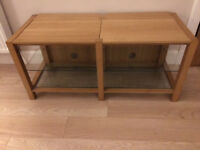 Oak TV Media Stand by Ercol