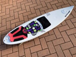 """Kitesurfing Surf Board, Directional, Airush, Converse, 5'6"""" with strap"""