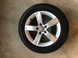 Audi OEM Rims & Tires 205/55/16