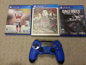 *** NEWER MINT 10/10 PS4 CONTROLLER & GAMES FOR CHEAP ***