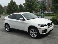 2014 BMW X6 Blanc, Premium package, Mag 20 pouces.