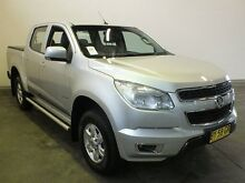 2014 Holden Colorado RG MY14 LT (4x2) Silver 6 Speed Automatic Crewcab Westdale Tamworth City Preview