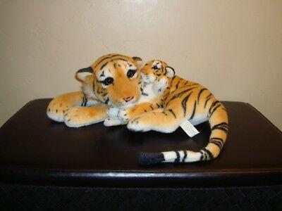 American Furniture Warehouse (American Furniture Warehouse Realistic Bengal Tiger Mother & Baby Cub Plush 19