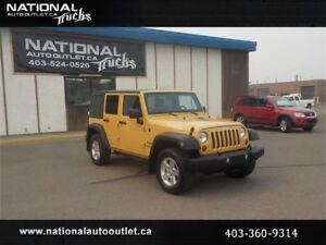 2013 Jeep Wrangler Unlimited Sport AC/PD/PW