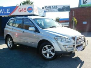 LOW KMS ** 2010 Sangyong KYRON *** DIESEL ** AUTO *** 4X4 ** LEATHER ** TOW BAR ** NUDGE BAR ** FULL Victoria Park Victoria Park Area Preview