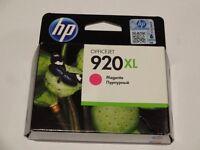 Original Hewlett Packard high yield ink cartridges 920XL - magenta